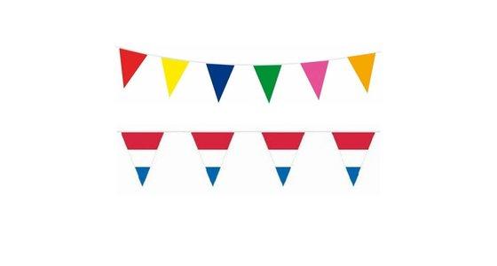 Gekleurde vlaggetjes