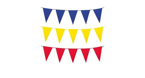 Alle kleuren vlaggenlijnen