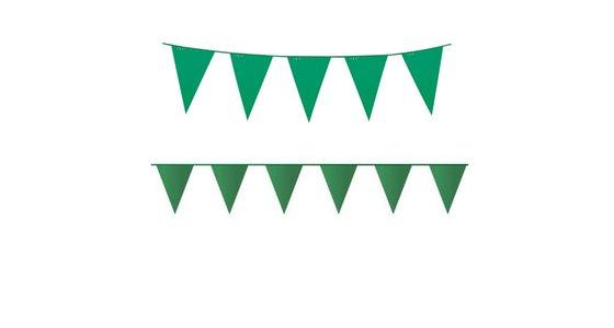 Groene vlaggetjes