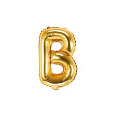 Folieballon Goud Letter 'B' - 35cm