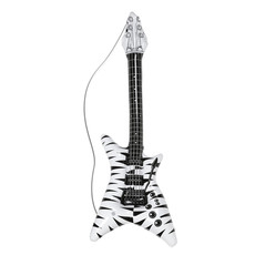 Zebra opblaas gitaar 95 cm