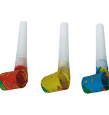 Gekleurde Roltongen Balloon - 6 Stuks