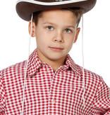 Bruine Cowboyhoed met ster kind