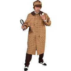 Sherlock Holmes kostuum man