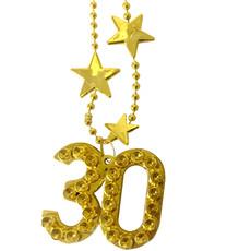 Goudkleurige Ketting 30 Jaar