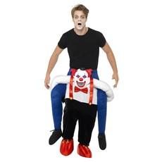 Draag Mij Horror Clown Kostuum