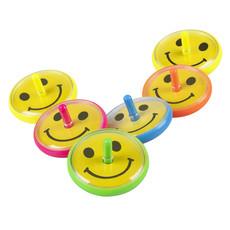 Speelgoed Tolletjes Smileys - 6 Stuks