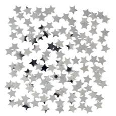 Confetti Sterretjes Zilver - 15gr