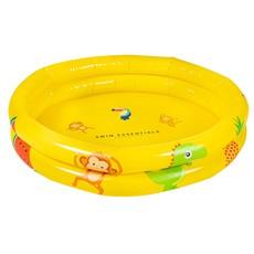 Geel babyzwembad rond