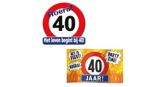 Schild 40 jaar