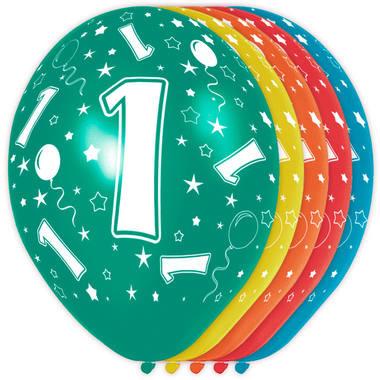 Feestbazaar 1 Jaar Verjaardag Ballonnen 5 Stuks online kopen