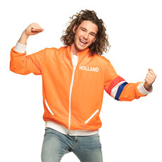 Holland Vest Oranje Heren