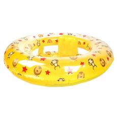 Baby Zwemzitje Circusprint Geel