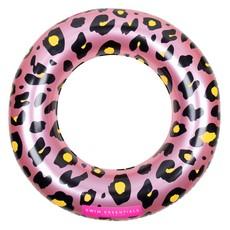 Opblaasbare Zwemband Panterprint Roze