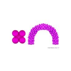Folieballonnen Ballonnenboog Fuchsia Rond - 10 Stuks