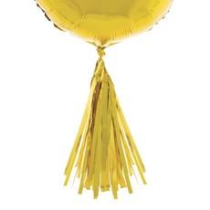 Ballonnen Tassels Goud - 5 Stuks