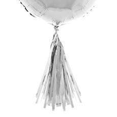 Ballonnen Tassels Zilver - 5 Stuks