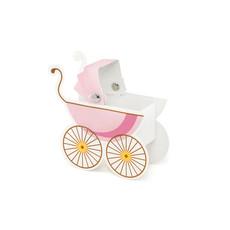 Geboorte Decoratie Kinderwagen Meisje - 10 Stuks