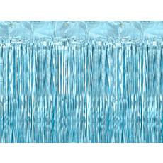 Feestgordijn Lichtblauw