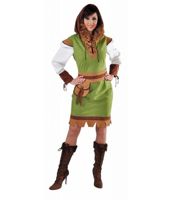 Robin Hood dame kostuum