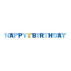 Letter Banner 1st Birthday blauw