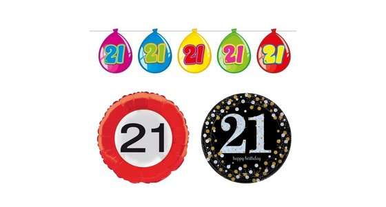 Verjaardag 21 jaar