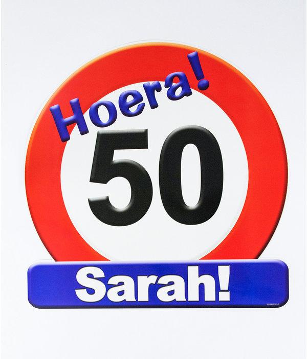 Sarah 50 Jaar Ideeen