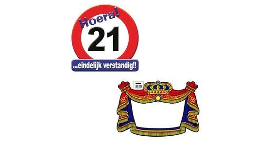 Schild 21 jaar