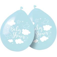 Babyshower Ballonnen Blauw Jongen - 8 Stuks