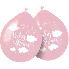 Babyshower Ballonnen Roze Meisje - 8 Stuks