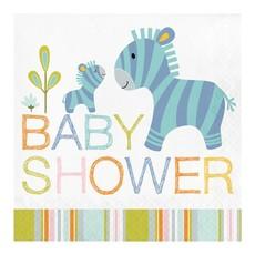 Servetten Babyshower - 16 Stuks