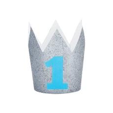 Verjaardag Kroontje 1 Jaar Blauw