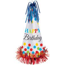 Feesthoedje Happy Birthday Luxe - 33 cm