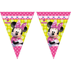 Vlaggenlijn Minnie Mouse Party - 3 Meter