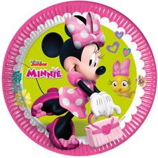 Feestbordjes Minnie Mouse Party - 8 Stuks