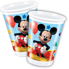 Bekers Mickey Mouse Clubhouse - 8 Stuks