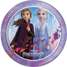 Bordjes Frozen II - 6 Stuks