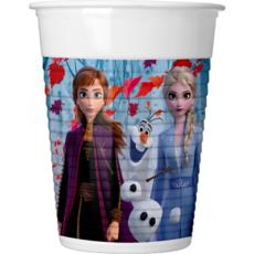 Bekers Frozen II - 6 Stuks
