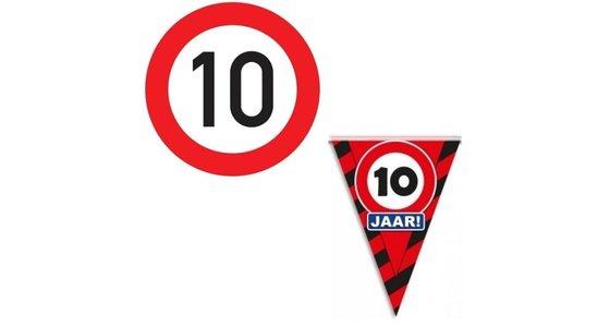 Verkeersbord 10 jaar