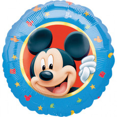 Folieballon Mickey Mouse Blauw - 45 cm