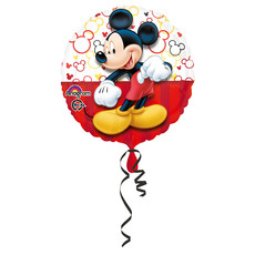 Folieballon Mickey Mouse Rood - 43 cm