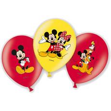 6 Mickey Mouse™ ballonnen - 27cm
