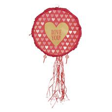 Trekpiñata Love You Hartjes - 40cm
