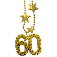 Goudkleurige Ketting 60 Jaar