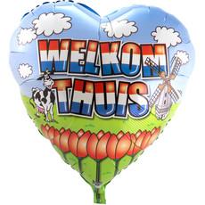 Welkom Thuis Folieballon Groot - 74cm