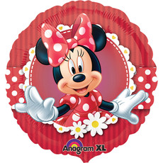 Folieballon Minnie Mouse Rood - 43 cm