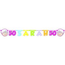 Letterslinger 50 jaar Sarah Regenboog