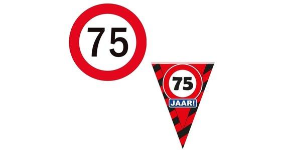 Verkeersbord 75 Jaar