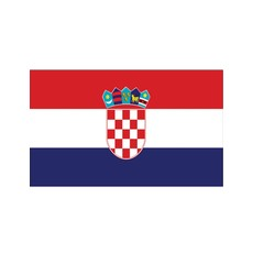 Vlag Kroatië - 90x150 cm