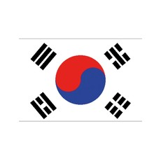Vlag Zuid-Korea -  90x150 cm